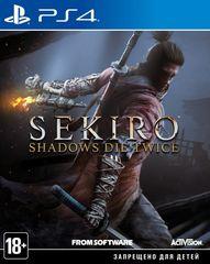 Sekiro: Shadows Die Twice (PS4, русские субтитры)