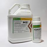 Acqualux H2 (4,5+0,45л) лак водный двухкомпонентный полуглянцевый ICAR Recoll (Италия)