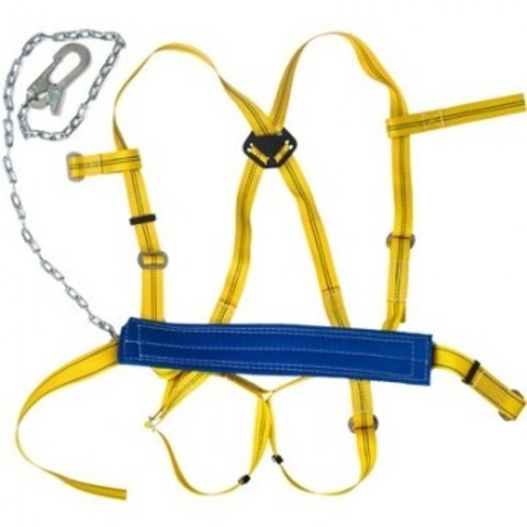 Привязь удерживающая УСП 2ГЖ (ПП 2ГЖ) наплечные/набедренные лямки строп цепь