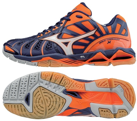 Кроссовки волейбольные MIZUNO WAVE TORNADO X V1GA1612-73