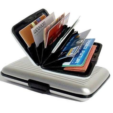 Оригинальные подарки Алюминиевый кошелек - визитница Aluma Wallet (Мультикард) 40bc16c054553bc623be5c4e3ae8c7a1.jpg