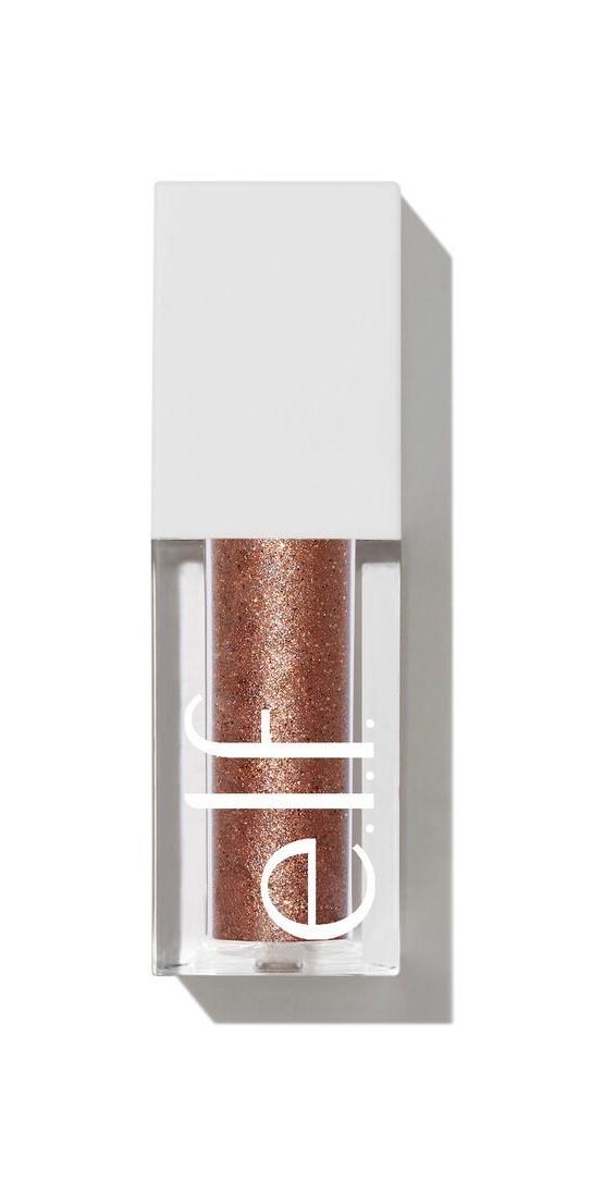 Жидкие тени ELF Liquid Glitter Copper Pop