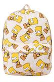 Рюкзак Барт Симпсон белый