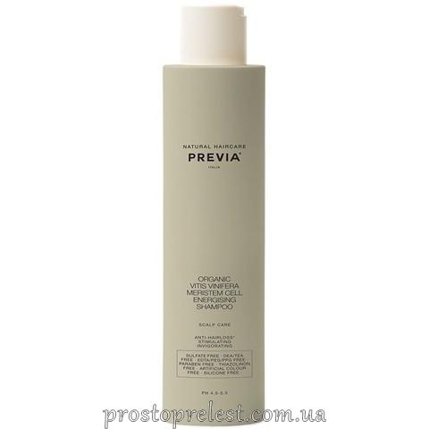 Previa Vitis Vinifera Energising Shampoo – Энерджайзинг шампунь против выпадения волос
