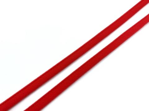 Ворсовая тесьма под каркасы красная (цв. 100)