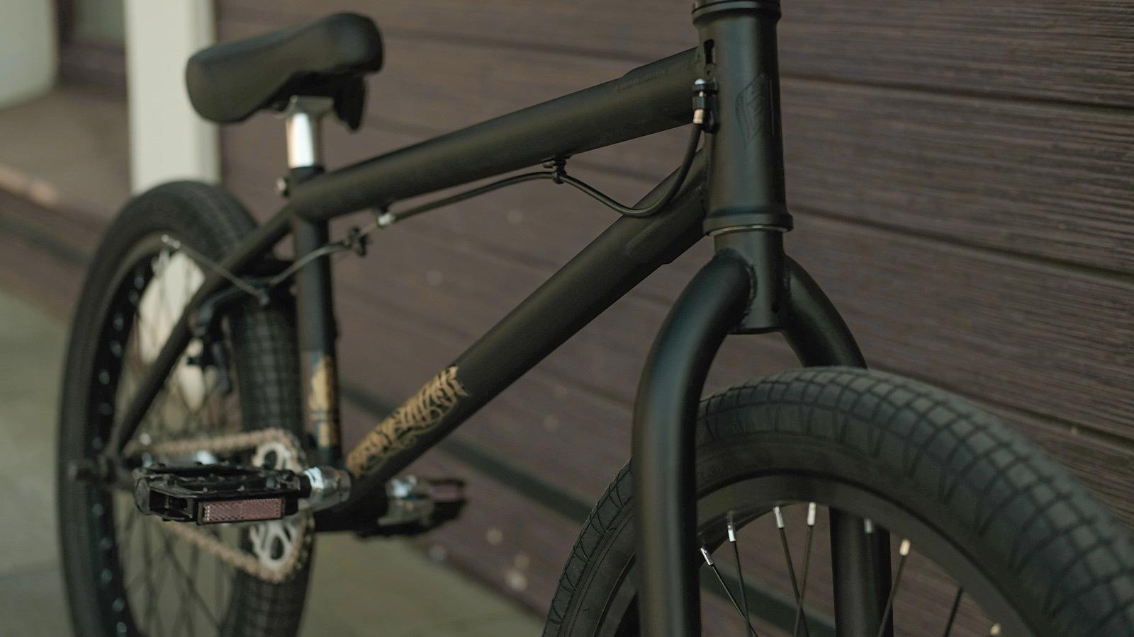 bmx велосипед трюковой прочная рама