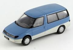 Moskvich-2139 Arbat blue-white 1:43 DeAgostini Auto Legends USSR #90