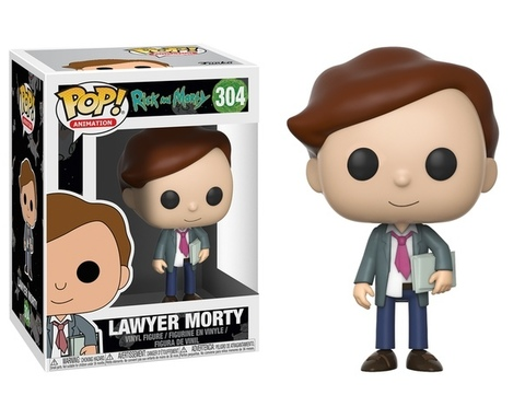 Фигурка Funko Pop! Animation: Rick and Morty - Lawyer Morty