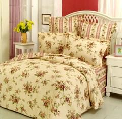Сатиновое постельное бельё  2 спальное  В-25