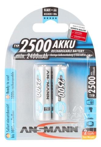 Аккумулятор АА/NiMH ANSMANN MaxE 1.2V 2500mAh