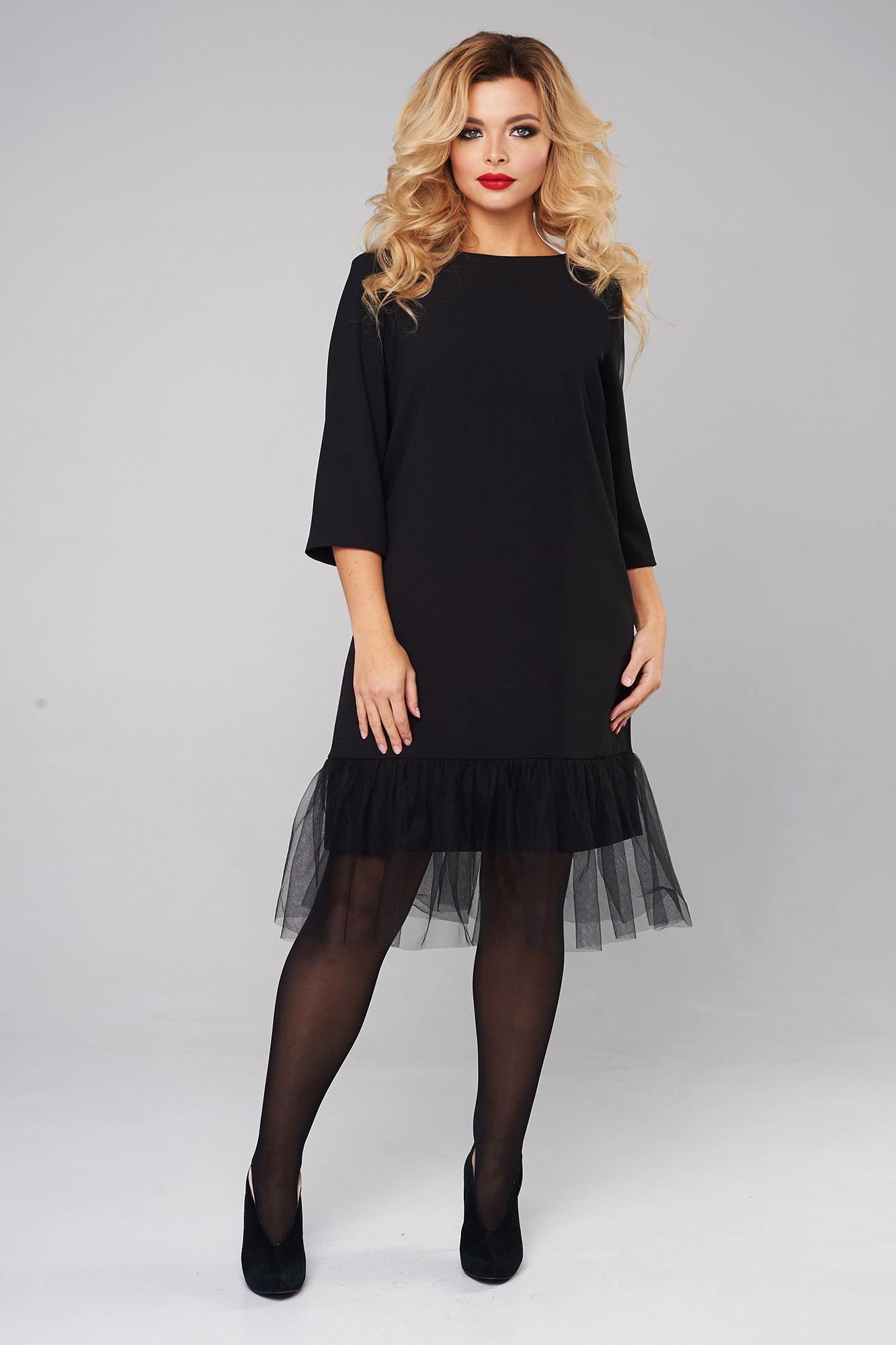 Платья Платье с воздушным воланом 2040 f3ece5e81184d0285afa42ef36558213.jpg