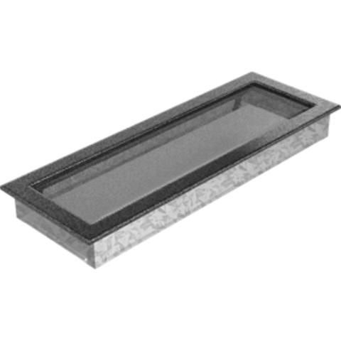 Вентиляционная решетка Черная/Серебро (17*49) 49CS