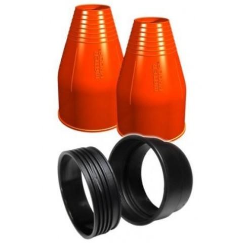 Набор Waterproof для установки силиконовых обтюраторов на запястье, круглый, синий