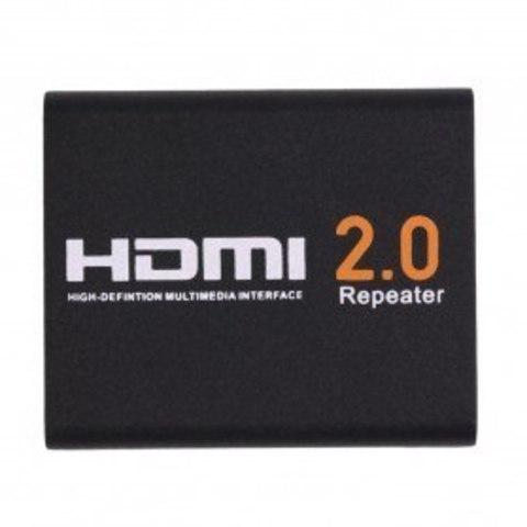 HDMI 2.0 Активный усилитель 30 м  репитер  удлинитель. Repiter HDMI 4k 3D 2.0 соединитель.