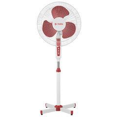 Вентилятор напольный DELTA DL-020N белый с красным