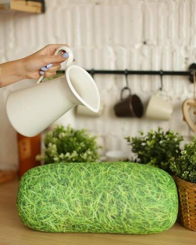 Подушка декоративная валик Gekoko «Травяной» 3