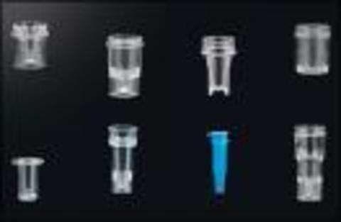Кювета для анализаторов различных марок, полимерная (полистирол) цилиндрическая, типа Hitachi, объемом 3мл, размером 17х38мм