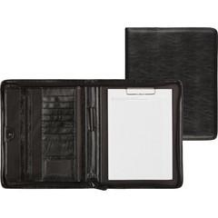 Папка деловая Алекс Фортуна-Люкс из искусственной кожи черного цвета (177)