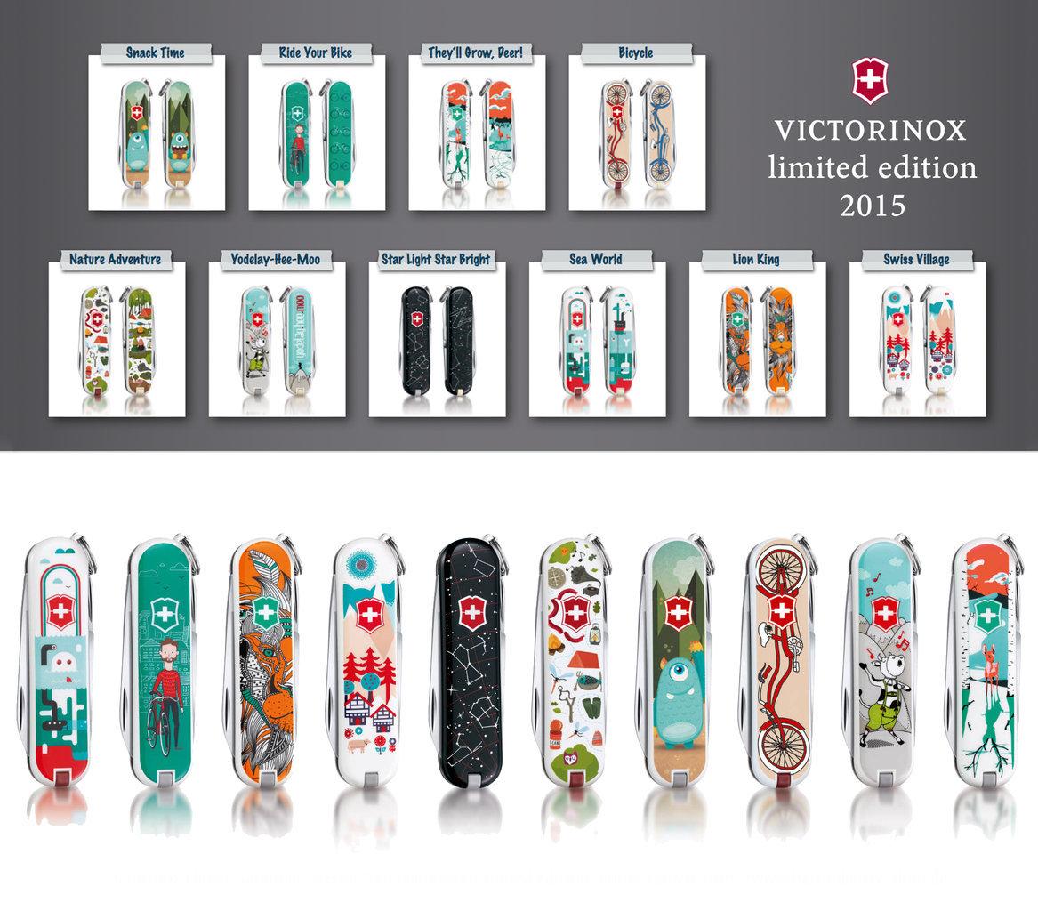 Коллекция ножей-брелков Victorinox Classic Limited Edition 2015 | Wenger-Victorinox.Ru