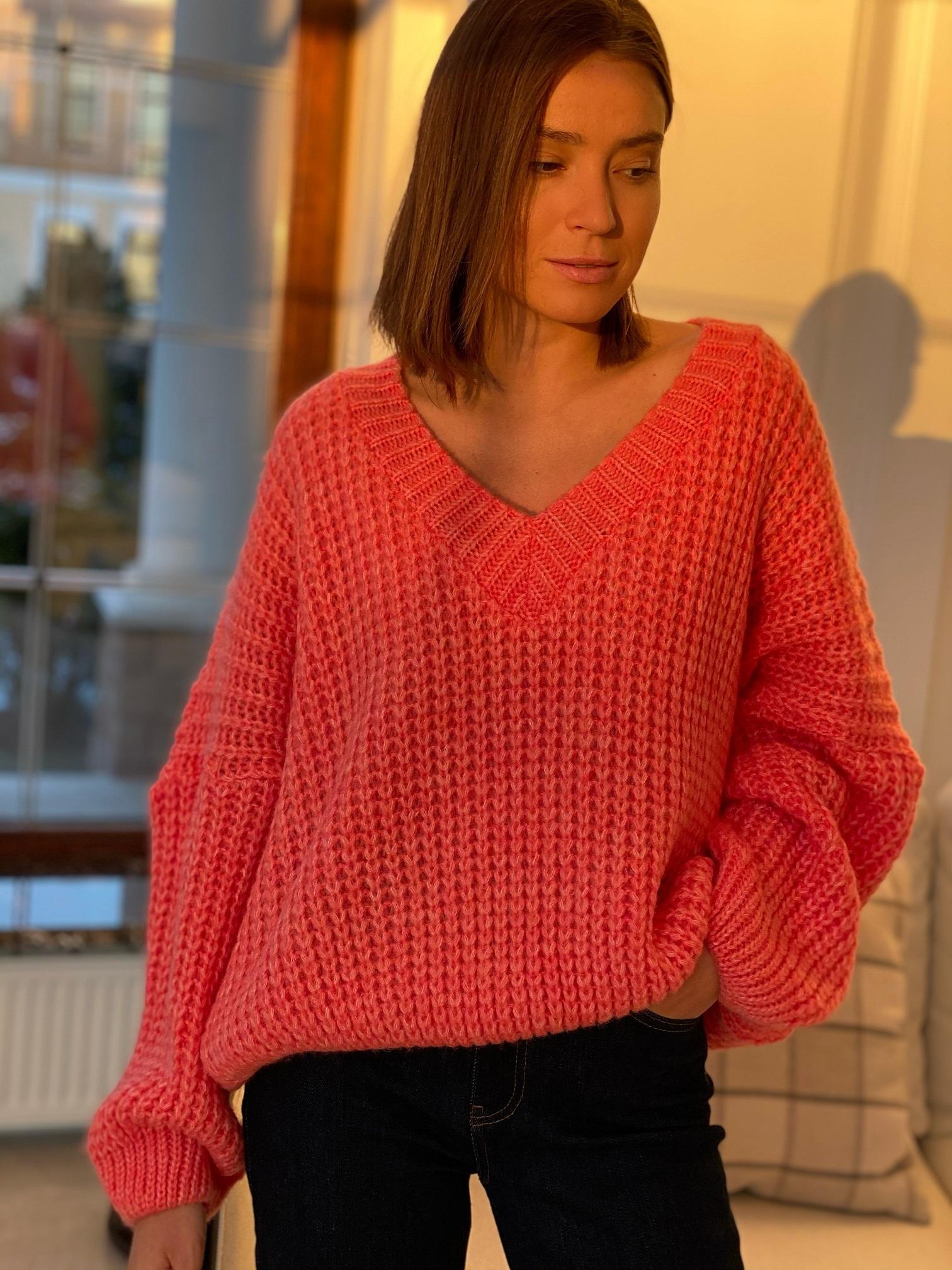 Пуловер, Pola, Twiggy (коралловый)