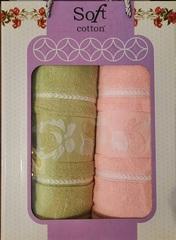 Dəsmal dəsti \ Набор полотенец \ Towel set Soft Cotton 3