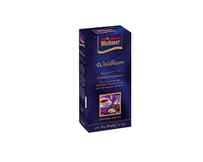 Чай фруктовый в пакетиках Messmer Лесные ягоды, 20 пак/уп, 4 г