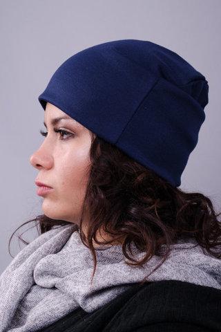 Фешн. Молодіжні жіночі шапки. Синій.