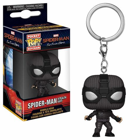 Брелок Человек-Паук || POP! Keychain Spider-Man (stealth suit)