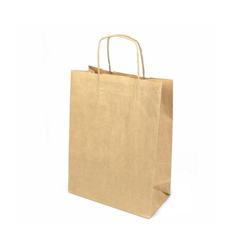 Пакет крафт с кр.руч., 320*195*370, 80 г/м2