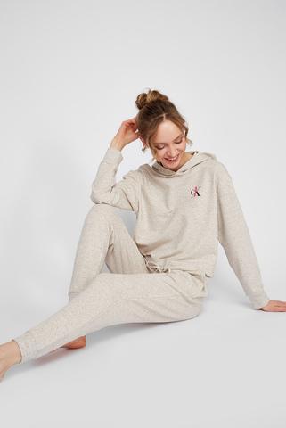 Женские бежевые брюки Calvin Klein