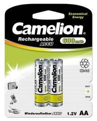 Аккумуляторы CAMELION R 6/2bl 600 mAh Ni-CD