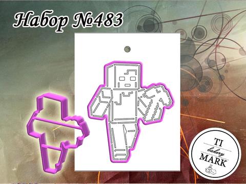 Набор №483 - Алекс (Майнкрафт)
