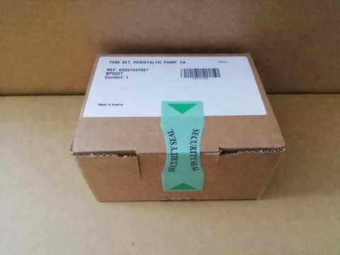 Набор трубок перистальтического насоса  TUBE SET, PERISTALTIC PUMP, EA для AVL 9180,03087697001