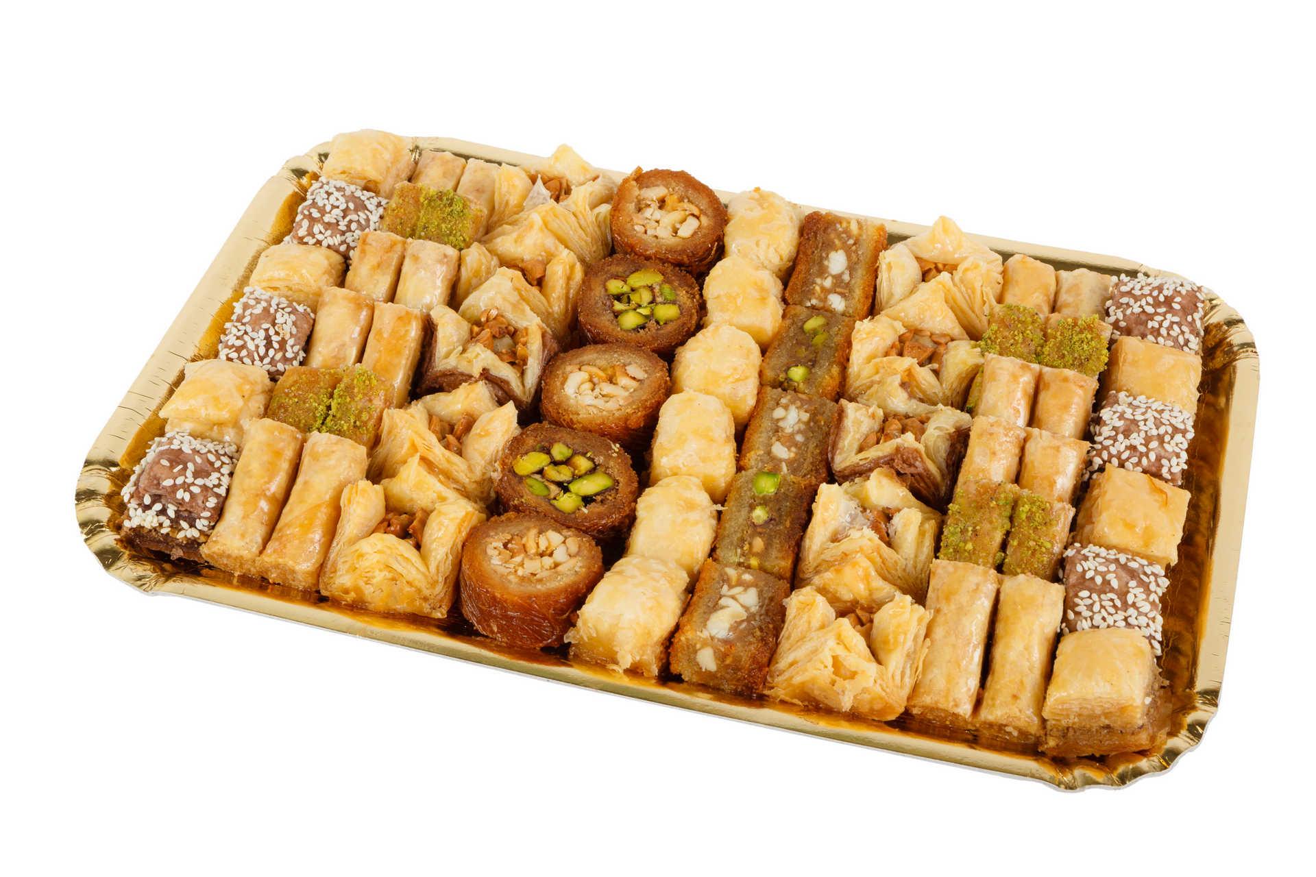 """Pate D'or Пахлава - ассорти ливанских сладостей """"1000 и 1 ночь"""", 1000 г import_files_75_75ecc6bf787e11e799f3606c664b1de1_6d364de02dcf11e882f7a0a8cddf3602.jpg"""