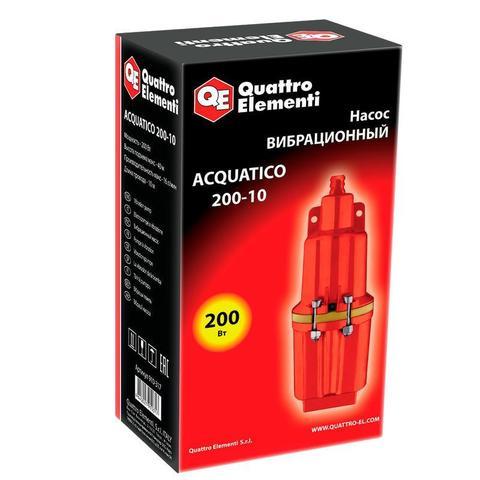Вибрационный насос QUATTRO ELEMENTI Acquatico 200-10 (200 Вт, 960 л/ч, для чистой, 40м, ка (910-317)