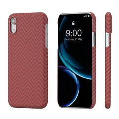 Чехол Pitaka MagCase (арамид) для Apple iPhone Xr (Red/Orange Herringbone)