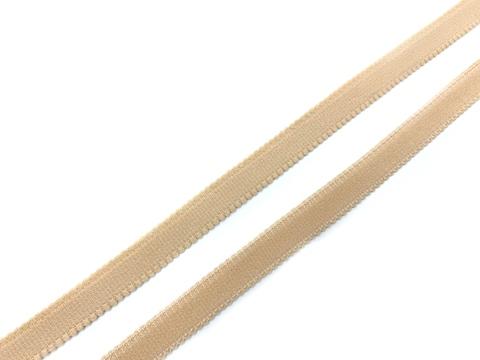 Резинка бретелечная бежевая 10 мм (цв. 126)