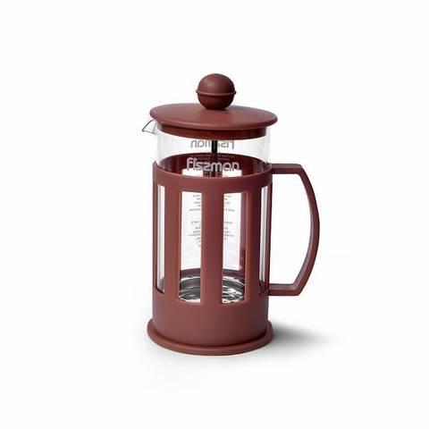 Чайник заварочный CAMELLIA 350мл с поршнем (стеклянная колба)