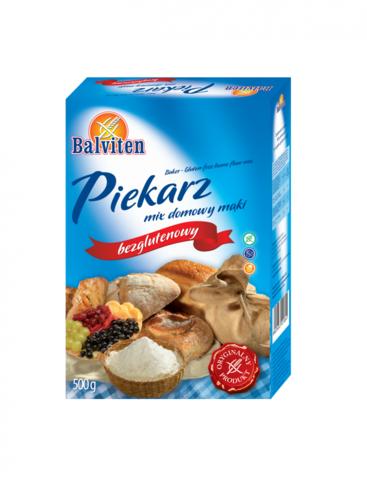 Смесь д/выпечки низкобелковая Piekars mix 500г