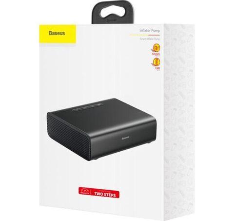 Насос автомобильный Baseus Smart Inflator Pump CRCQB01-01 черный