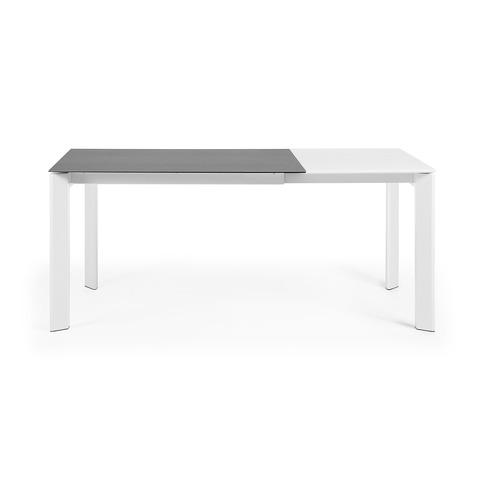 ATTA Стол 120 (180) x80 белый, керамический