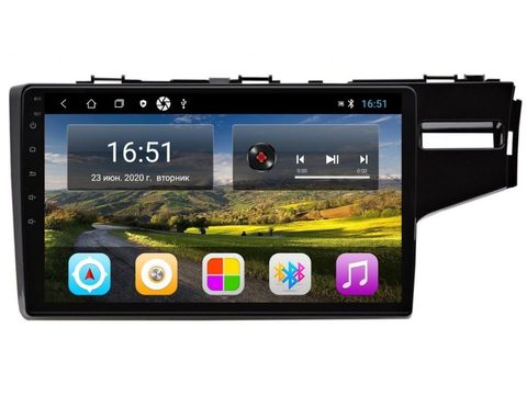 Штатная магнитола  Honda Fit (2014+) Android 11 2/16GB IPS  модель CB-3182T3