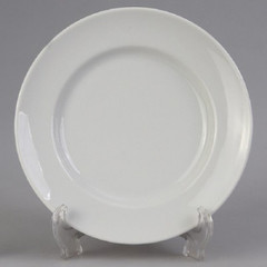 Тарелка десертная Добруш фарфоровая белая 200 мм (артикул производителя 4С0165Ф34)