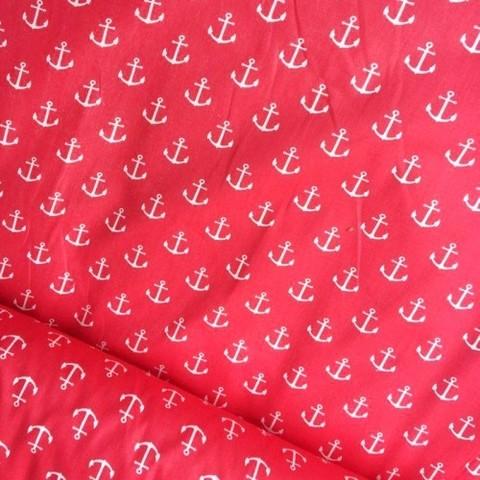 Бязь плательная 150 см 1788/20 цвет красный