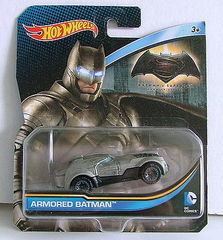 Hot Wheels Armored Batman Diecast Car