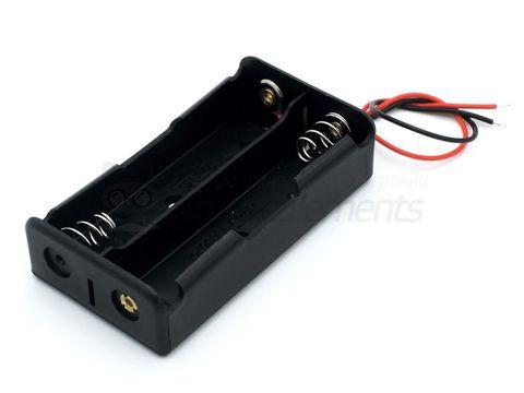 Отсек для аккумуляторов 2х18650