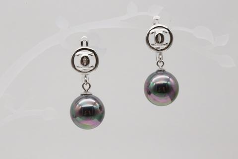 Серьги из серебра с жемчугом Ep00201r