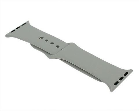Ремешок для Apple Watch 38mm/40mm силиконовый | дымный