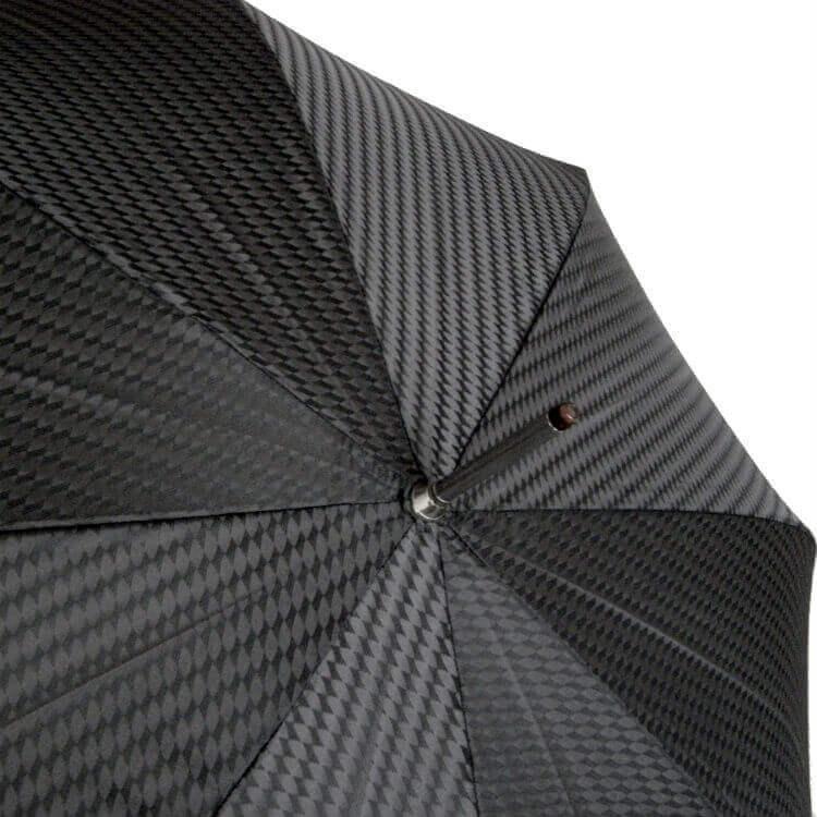 Зонт-трость Pasotti -6277-1-D17 Spirale in pelle