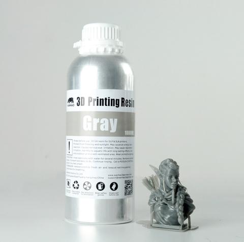 Фотополимер Wanhao Standard Resin, серый (1 л)